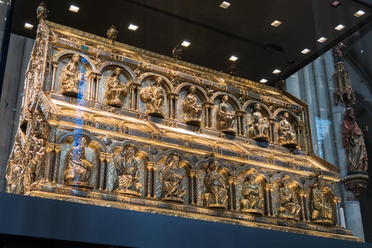 Köln, Dom, Dreikönigsschrein (Nikolaus von Verdun, um 1190-1220)