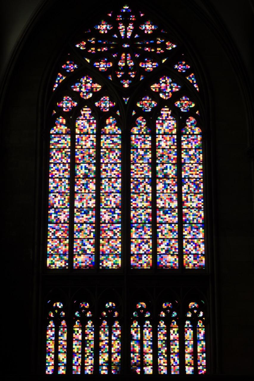 Köln, Dom, Buntglasfenster von Gerhard Richter (2007)