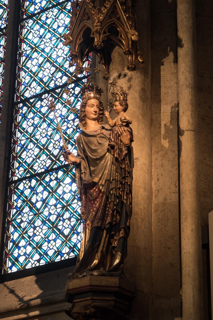 Köln, Dom, Mailänder Madonna (um 1280/90)