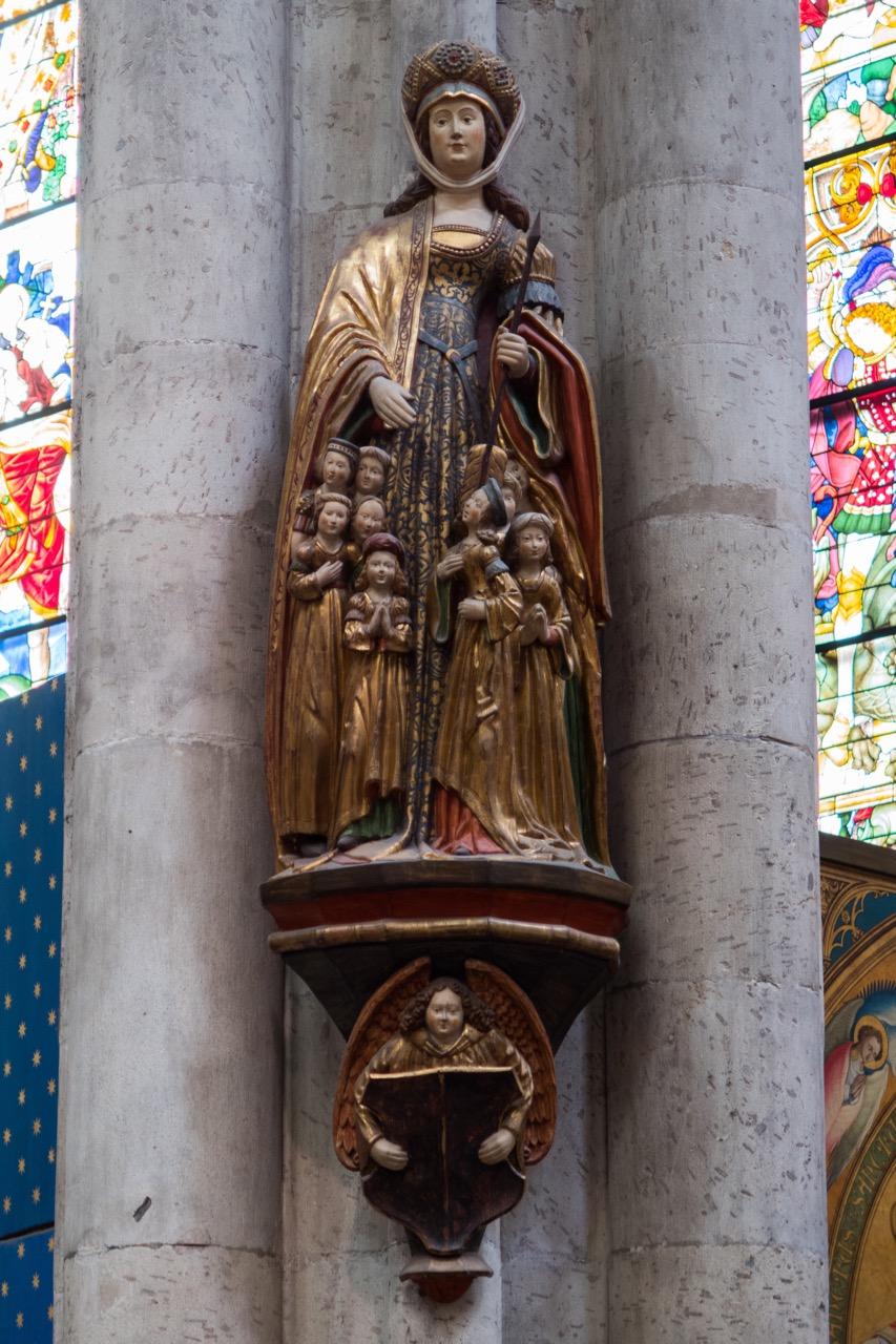 Köln, Dom, Schutzmantelmandonna
