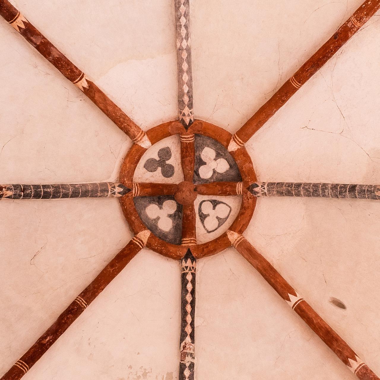 Schlussstein des Vierungsgewölbes