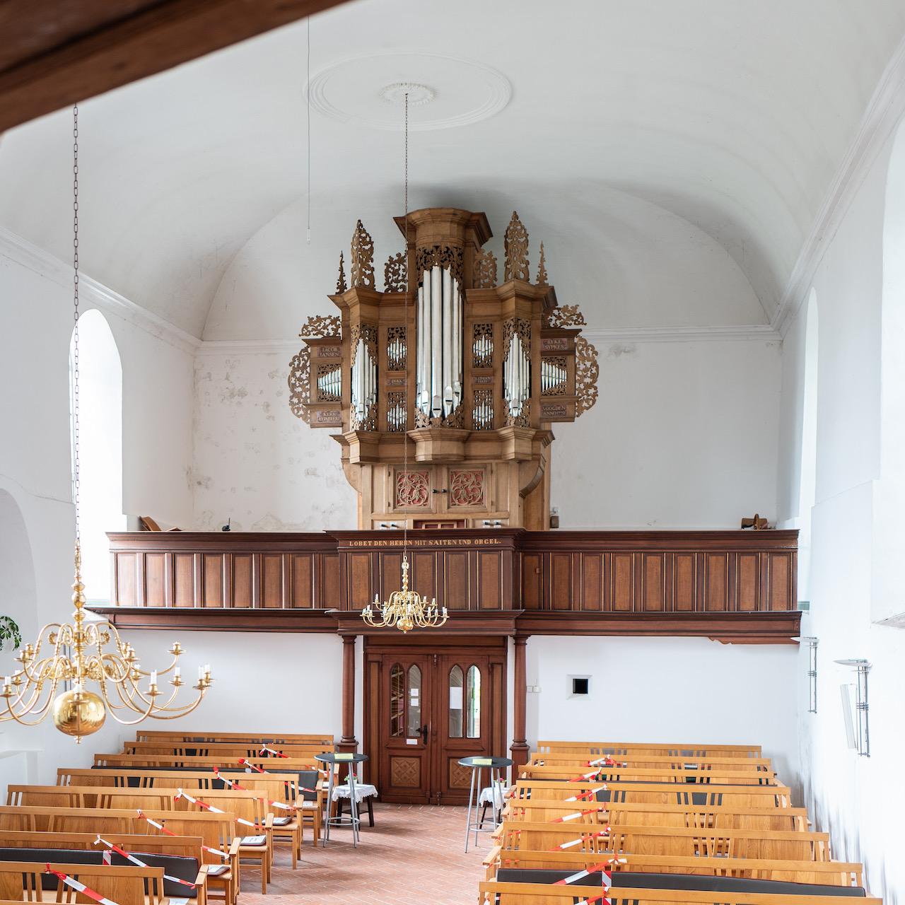 Orgel (Valentin Ulrich Grotian, 1694)