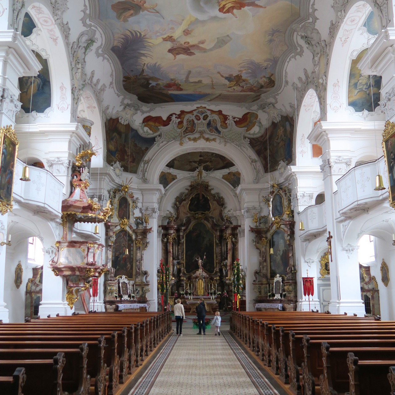 Münster Unserer Lieben Frau, Innenansicht