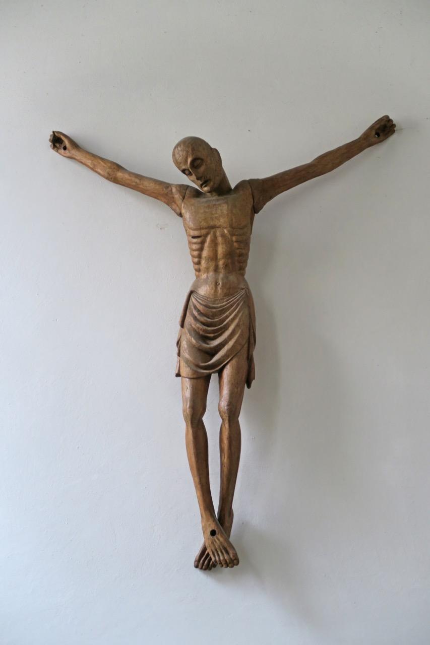 Gekreuzigter Christus (Holzschnitzerei)