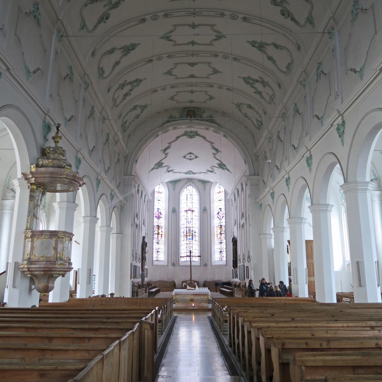 St. Stephan, Innenansicht