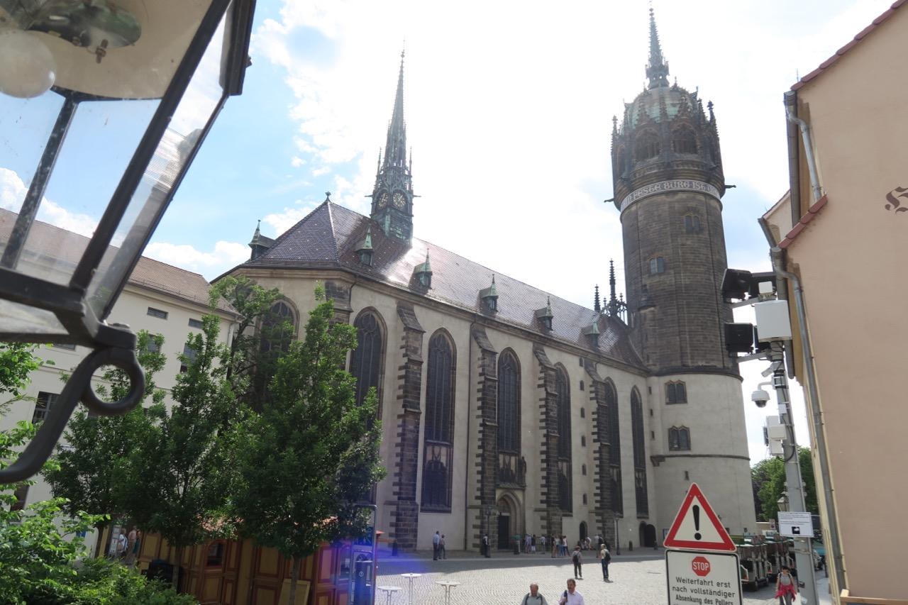 Schlosskirche, Außenansicht