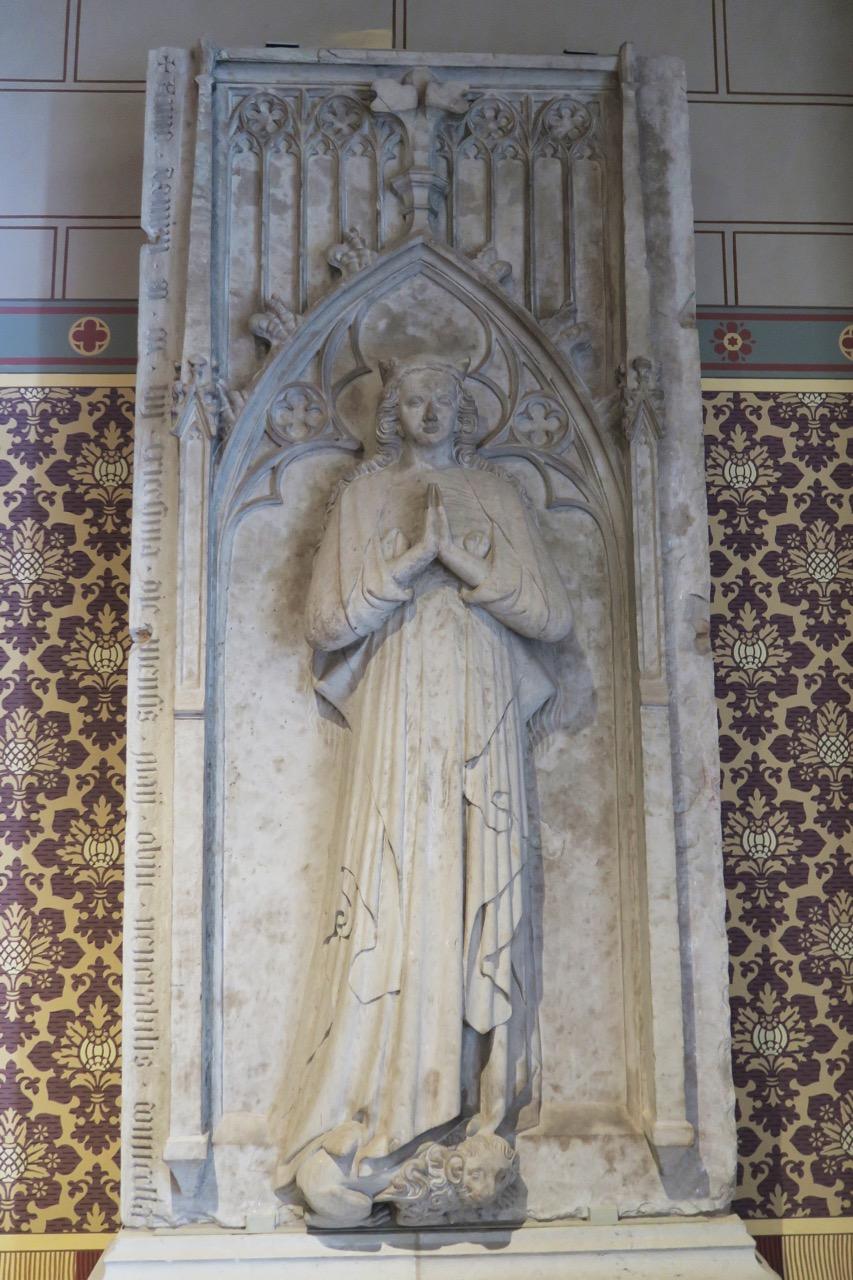 Grabplatte der Herzogin Elisabeth (gest. 1353)