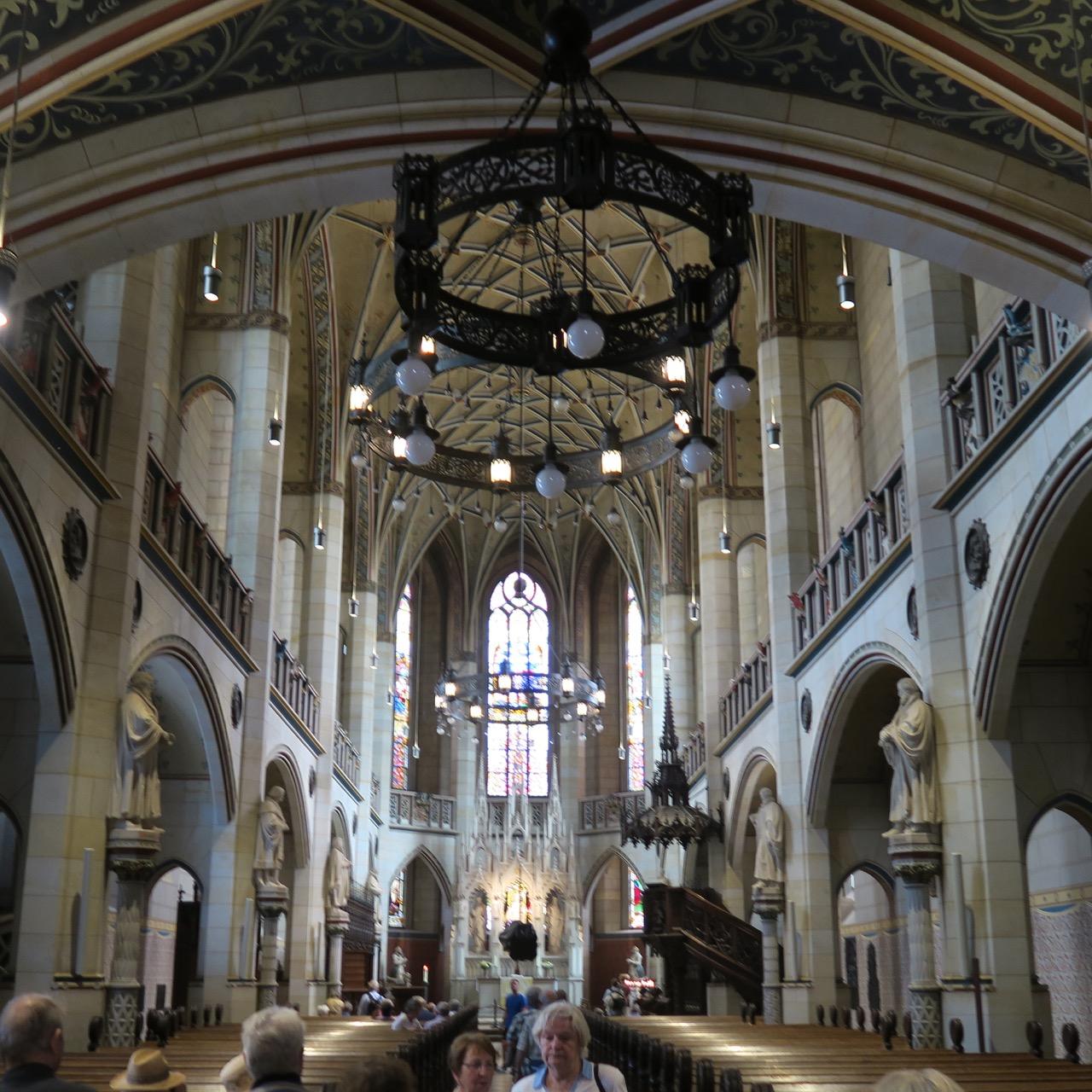 Schlosskirche Wittenberg, Innenansicht