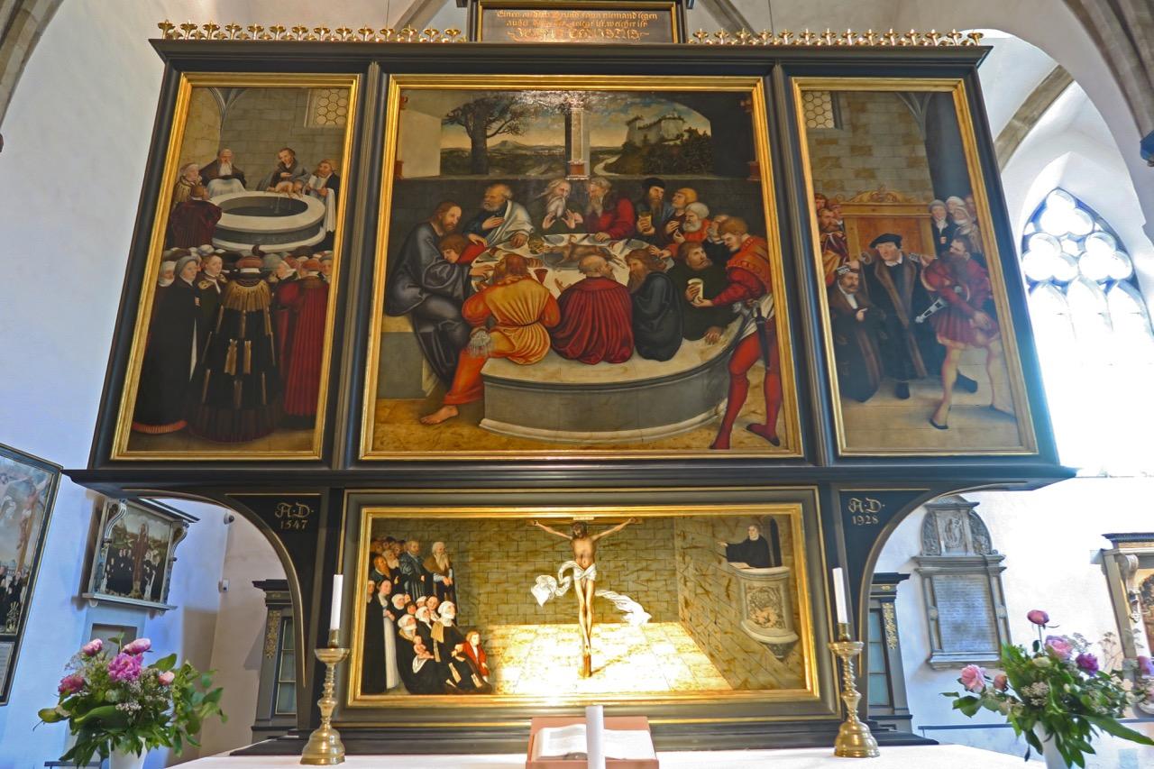 Reformations-Altar, 1547 (Lucas Cranach d.Ä.)