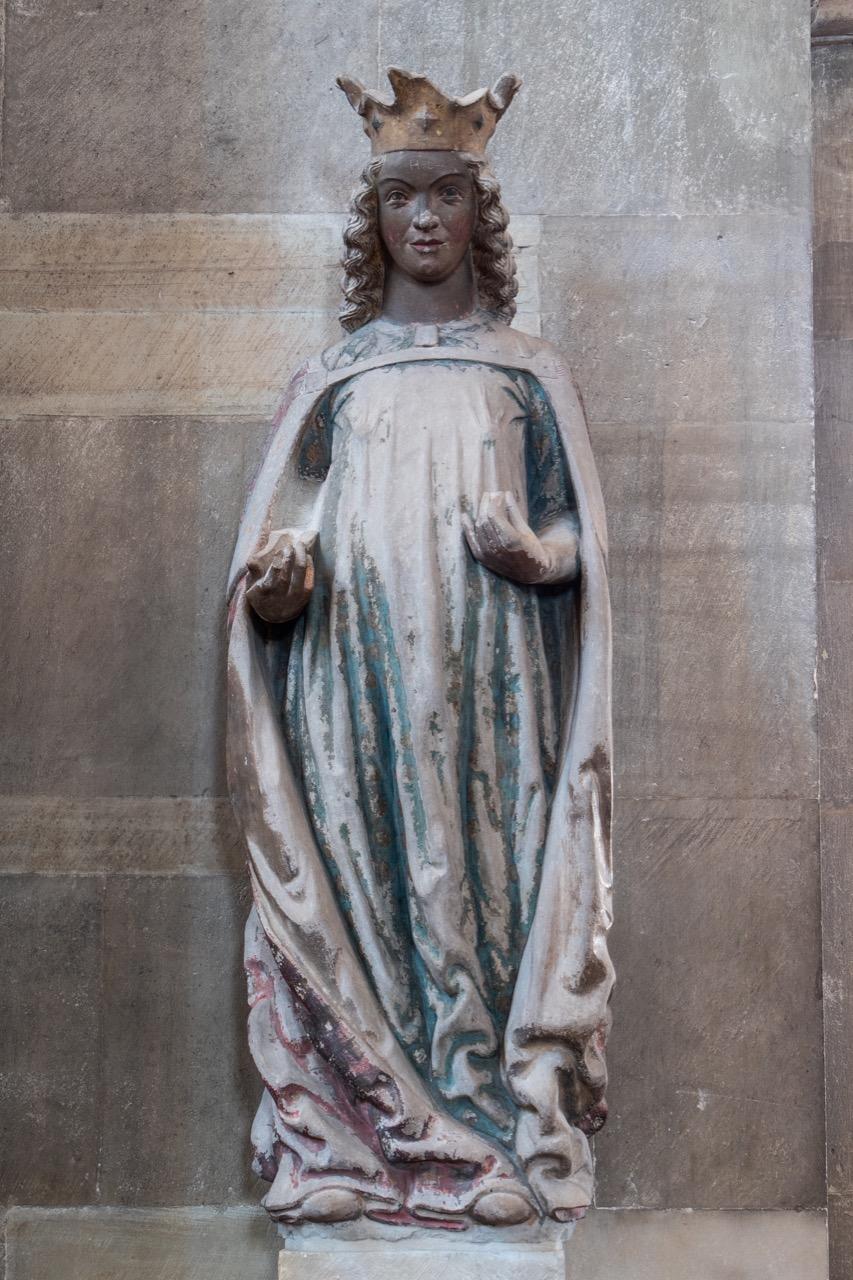 Skulptur der Katharina