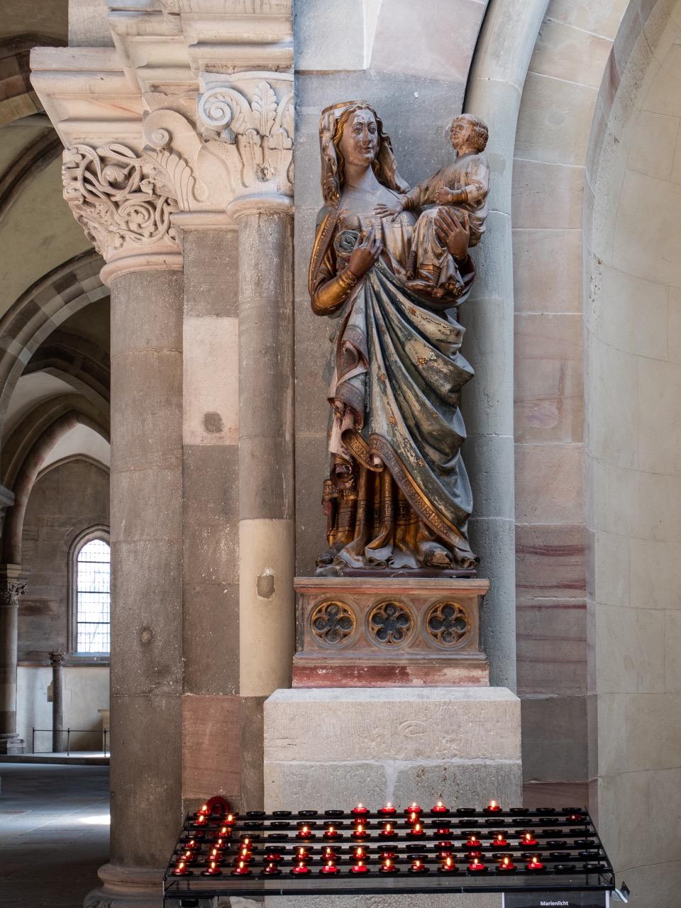 """""""Wundertätige Madonna"""", um 1300"""