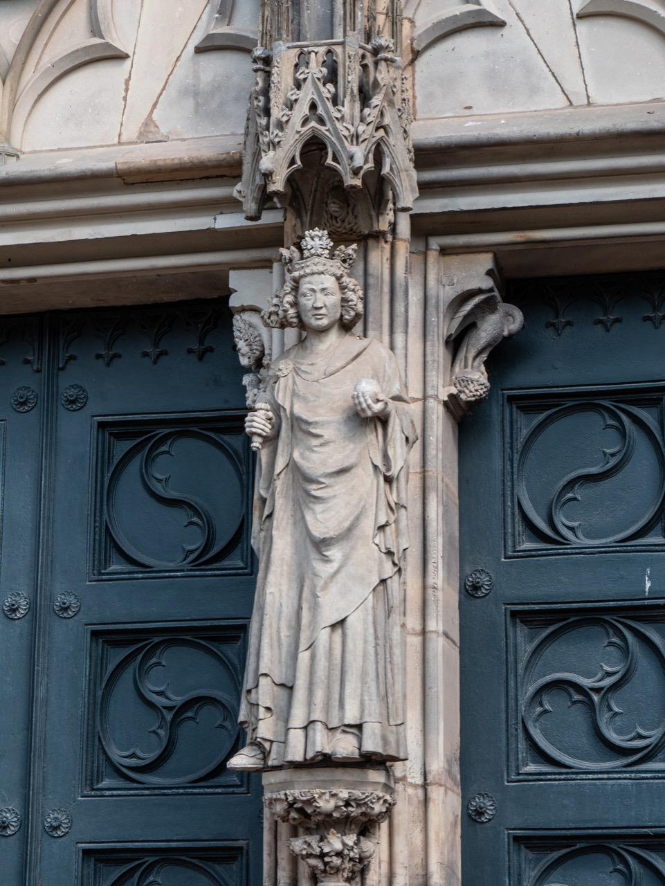 Westportal, Skulptur Otto I.