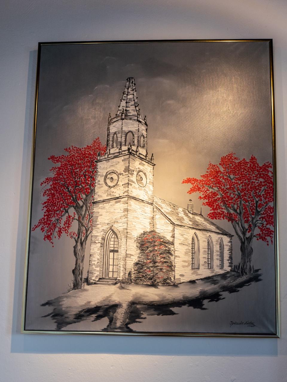 Bild von der Kirche neben dem Eingang