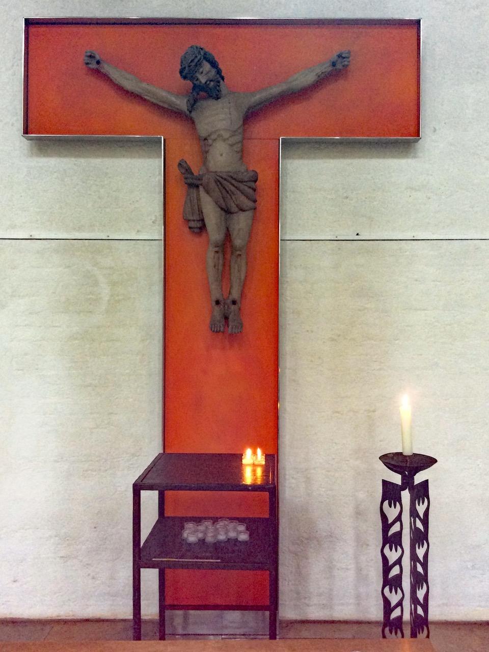 Spätgotisches Kruzifix aus der Steiermark