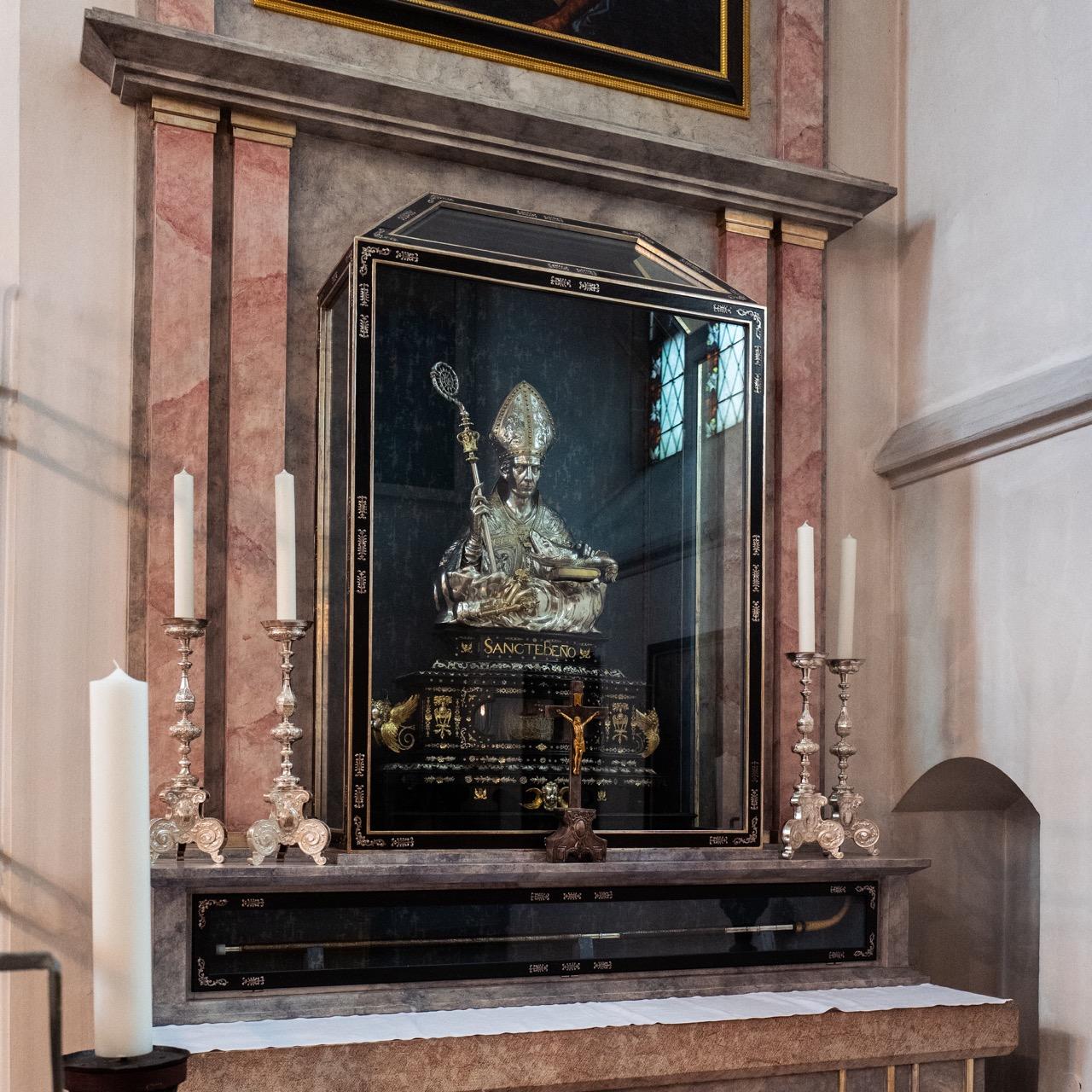 Bennokapelle, Reliquienbüste (Paulus von Vianen, 1604)