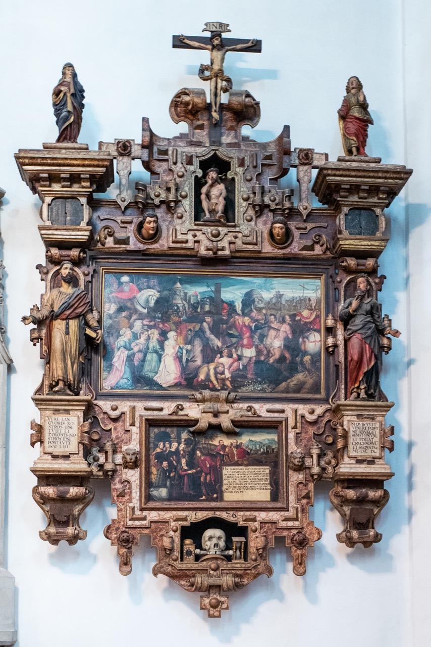 Epitaph des Stiftsdekans Philipp Dobereiner († 1576)