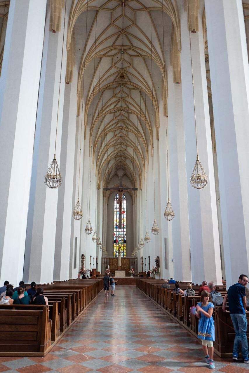Dom zu Unserer Lieben Frau (Frauenkirche), Innenansicht
