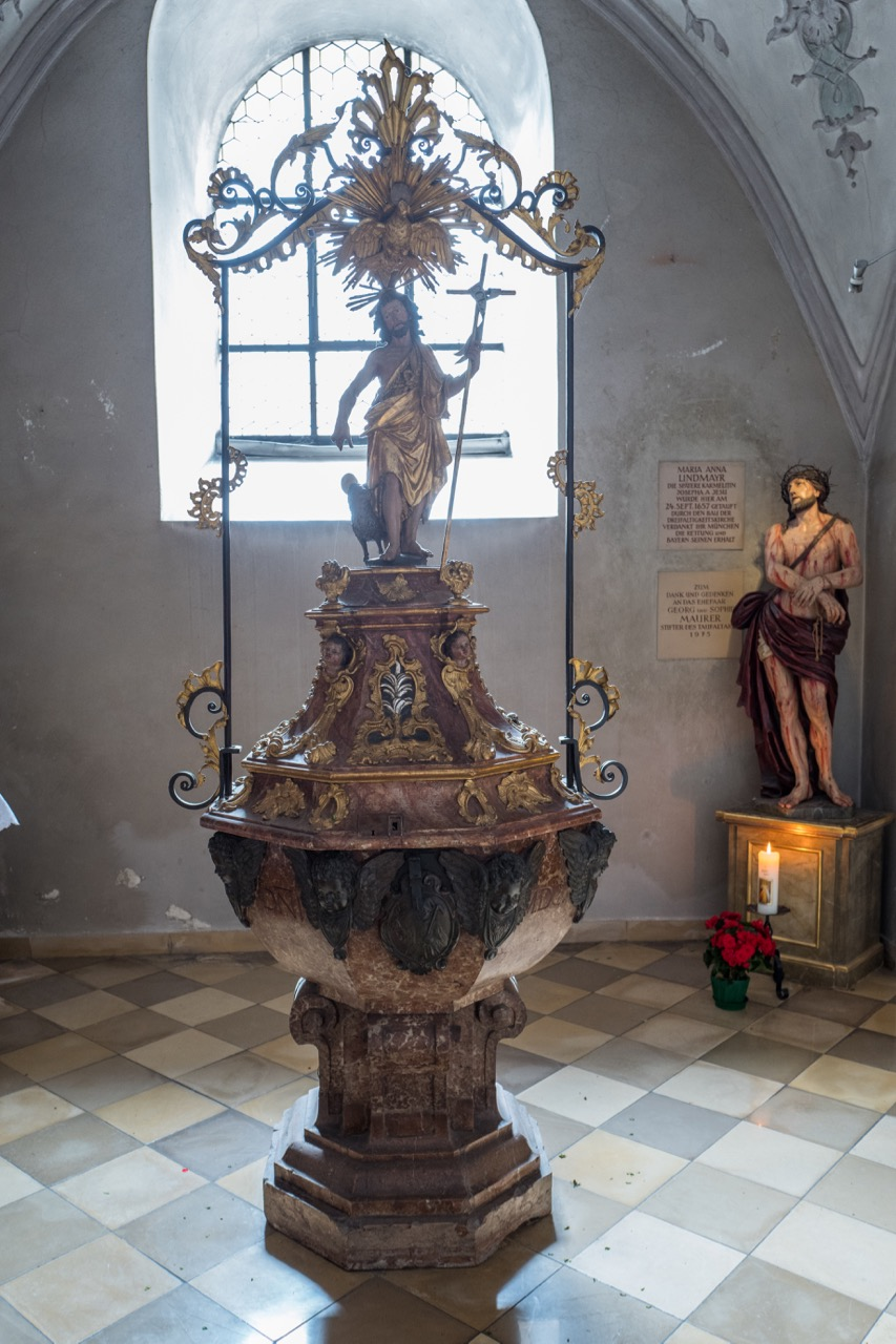 Taufstein, 1620