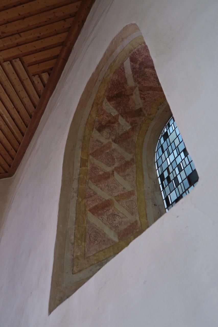 Mittelalterliches Fresko (um 1000)