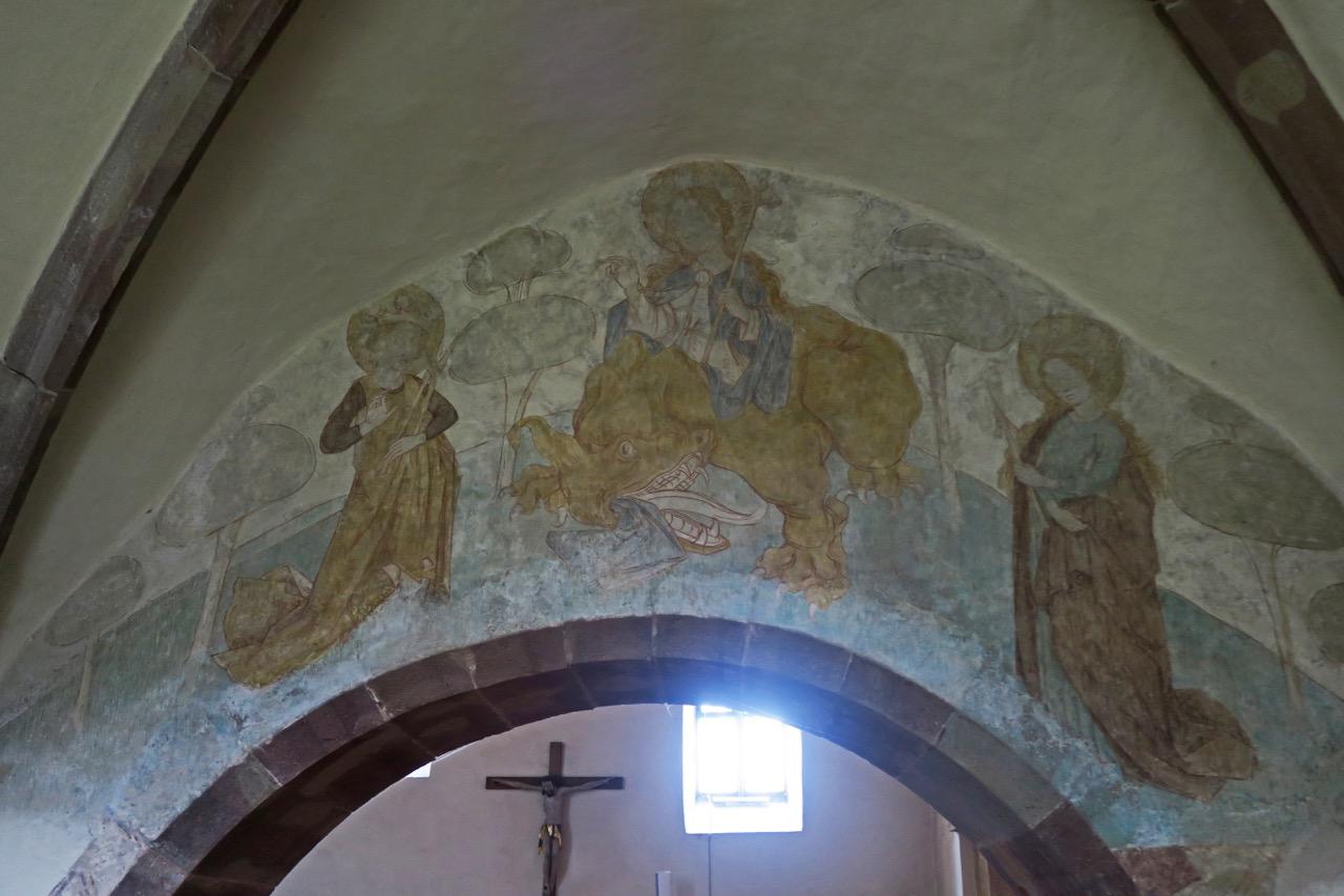 Fresko in der Taufkapelle (16. Jh.)