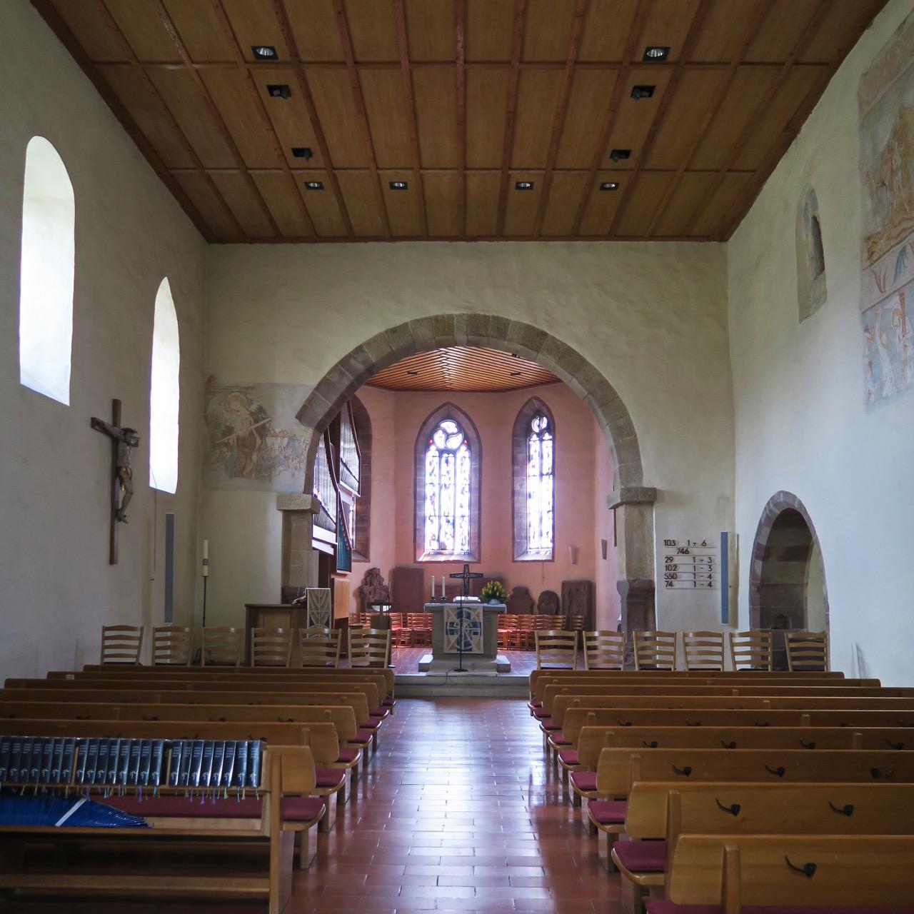 Remigiuskirche, Innenansicht