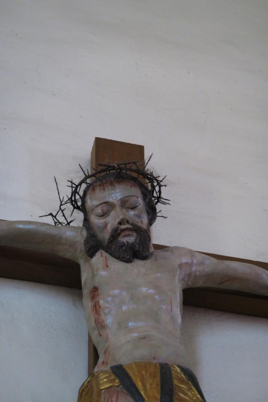 Kruzifix, Detail (17. Jh.)