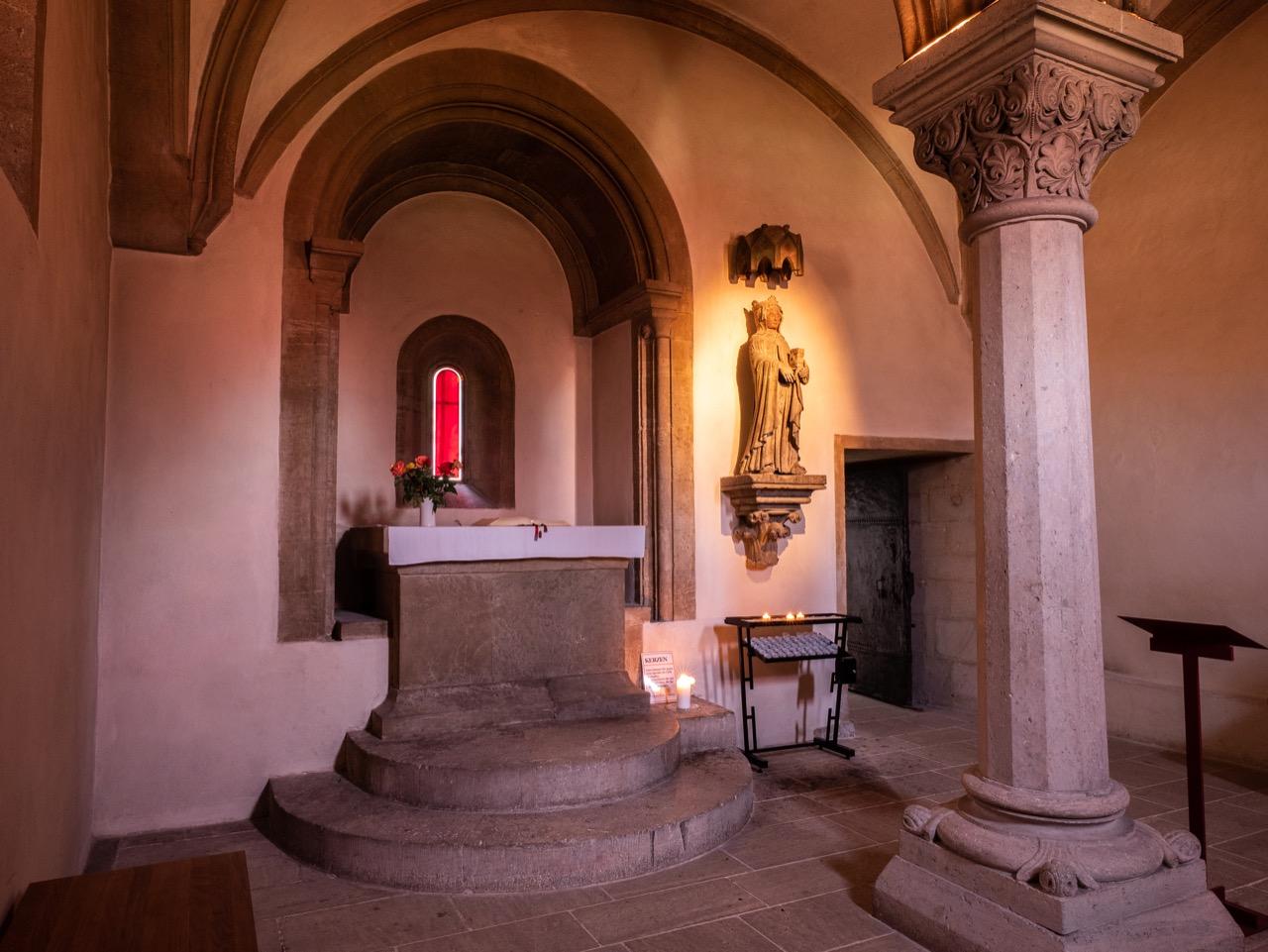 Elisabethkapelle im Erdgeschoss des Nordwestturms