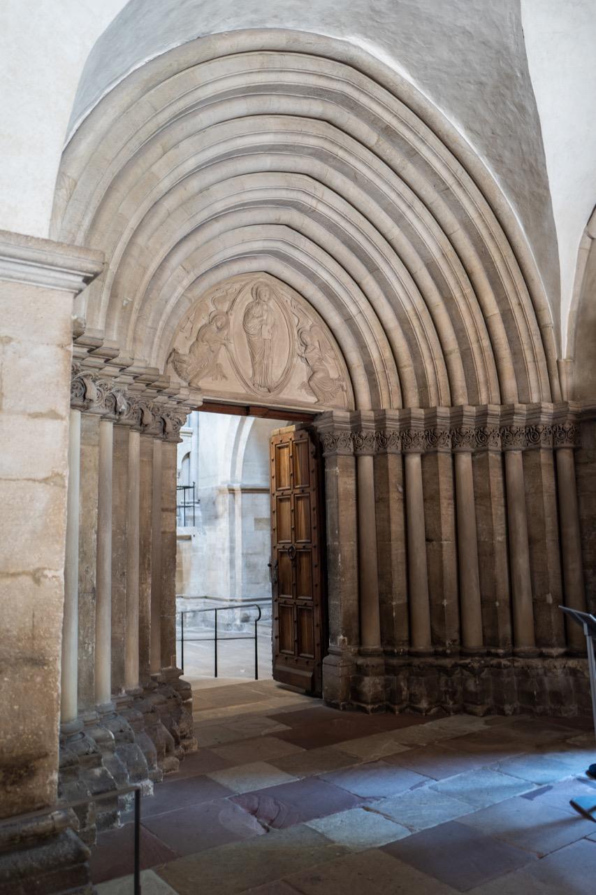 Portal in der Vorhalle, um 1200