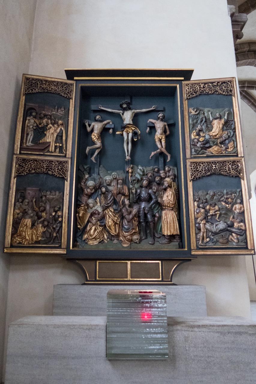 Kreuzaltar mit Tabernakel, 1517