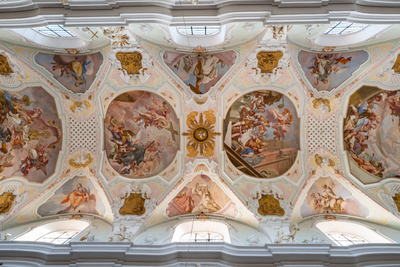 Deckengemälde (Johann Georg Bergmüller, 1727 bis 1729)