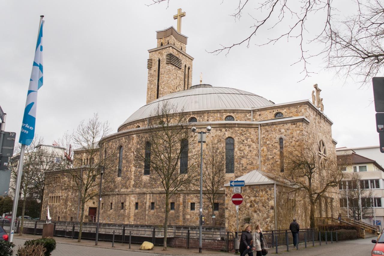 Herz-Jesu-Kirche, Außenansicht