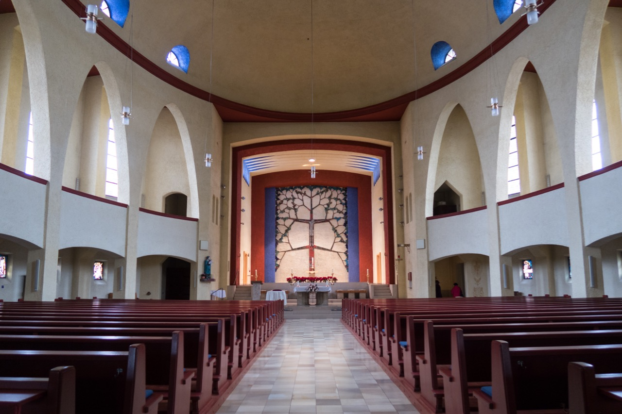 Herz-Jesu-Kirche, Innenansicht