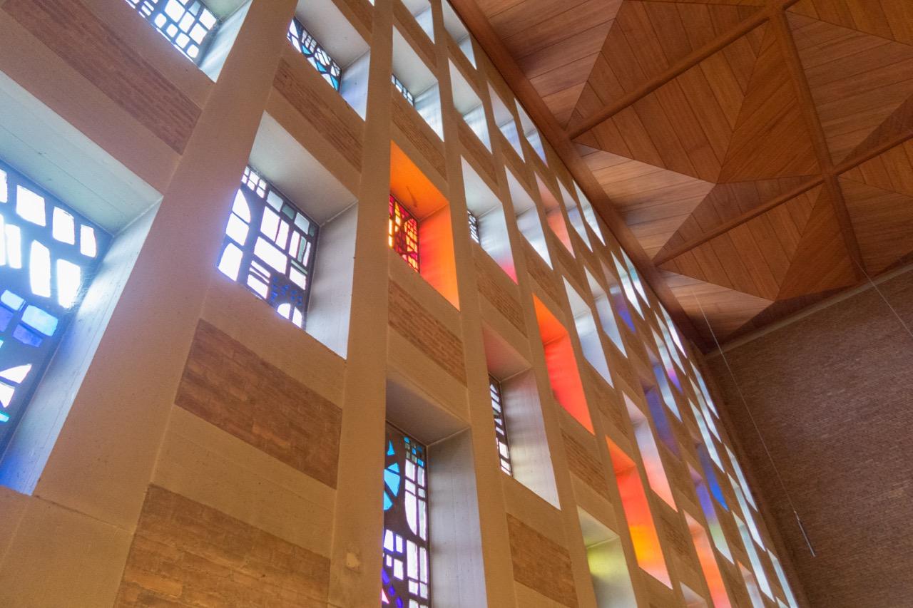 Fensterwand, Detail (Wolfgang Kappis)