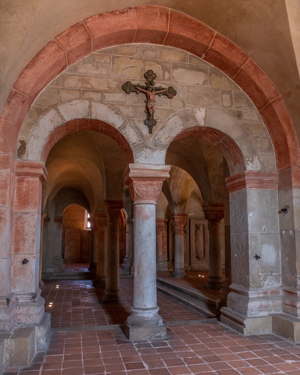 Eingang zur Krypta