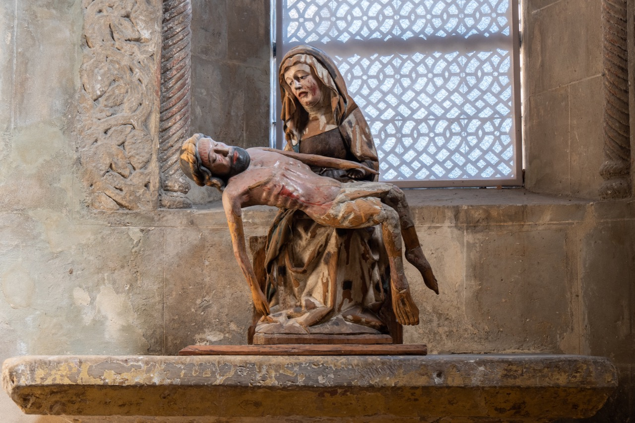 Pietá im südlichen Querhaus
