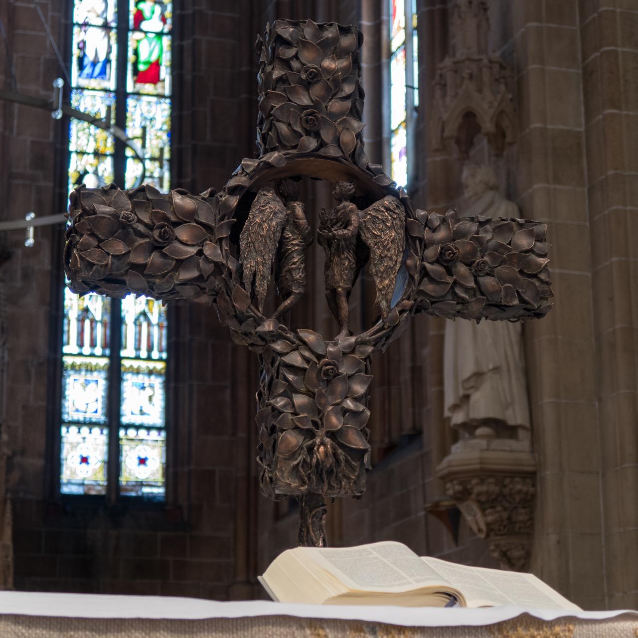 Altarkreuz von Hans Gottfried v. Stockhausen