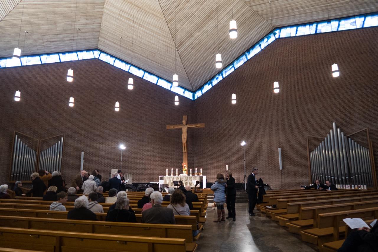 Christuskirche, Innenansicht