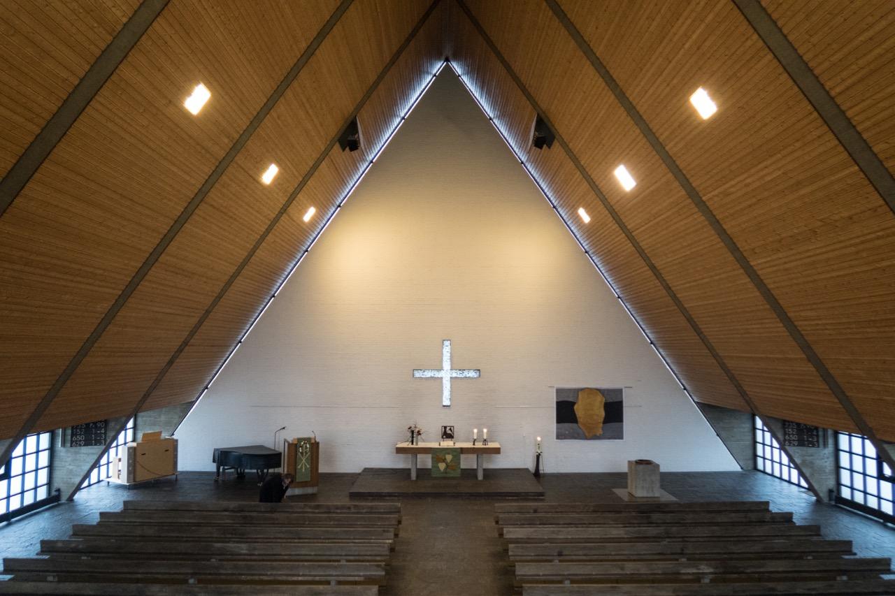 Johanneskirche, Innenansicht