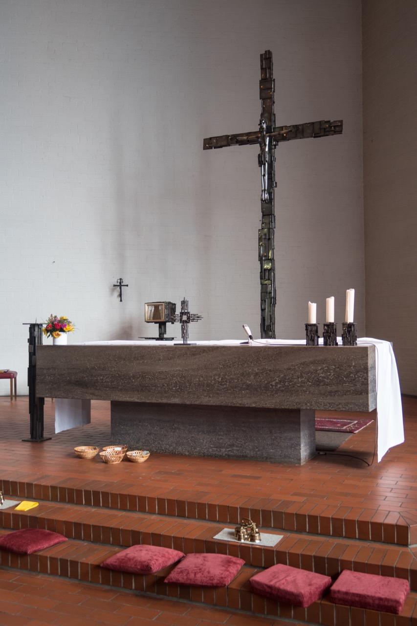 Altar nach der Profanierung