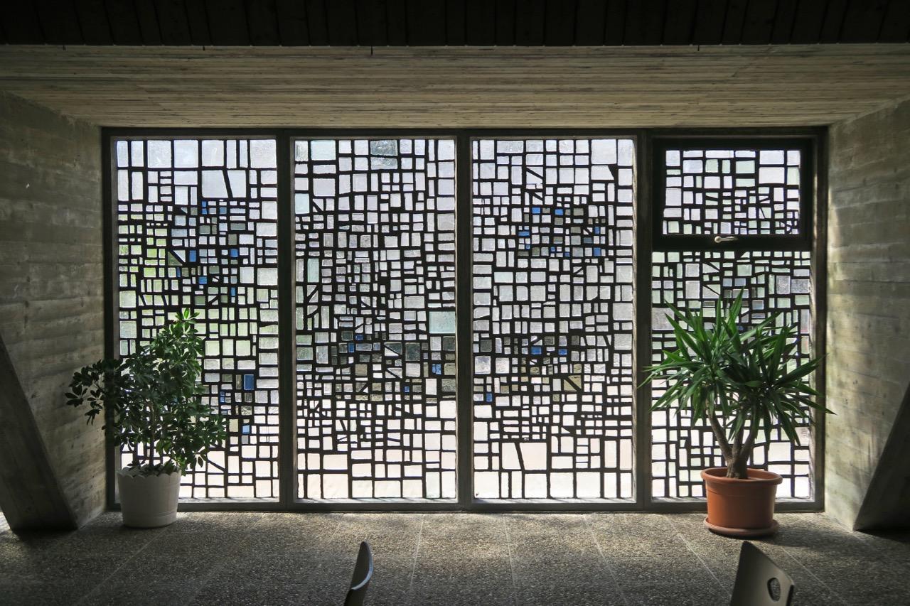 Betonglasfenster (Emil Kiess, 1967)