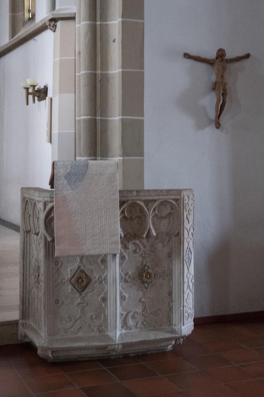 Altar (1595), heute als Ambo verwendet
