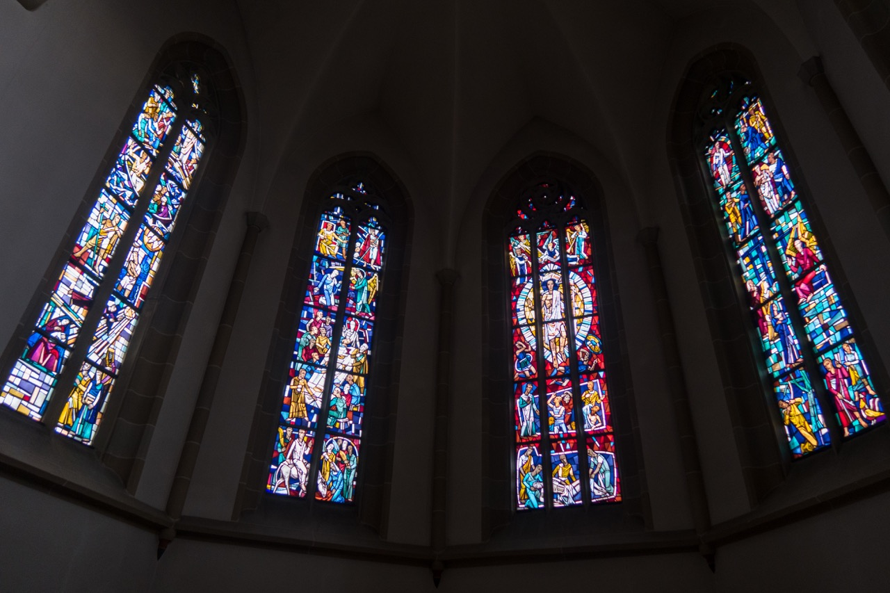 Chorfenster (Rudolf Yelin d. J., 1960–62)