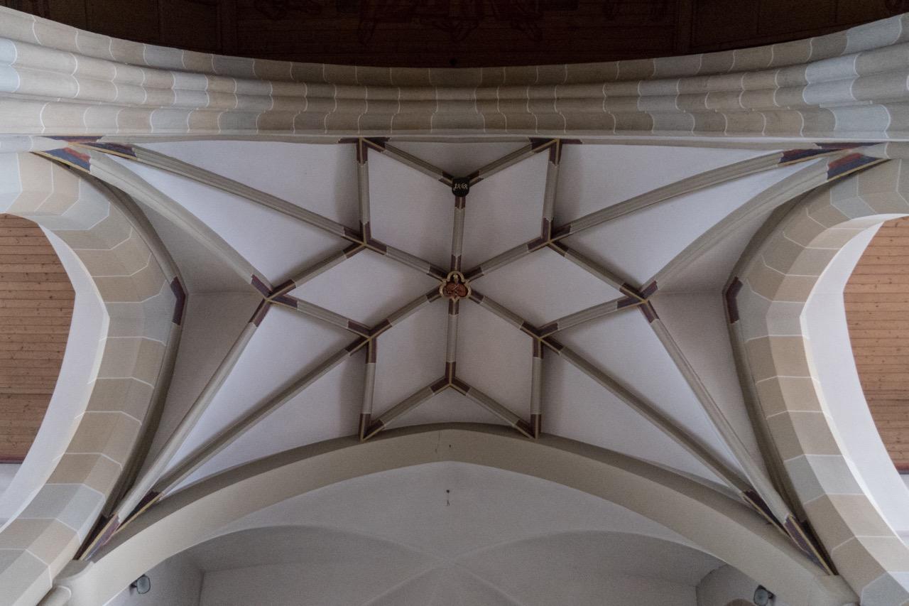 Sterngewölbe in der Vierung