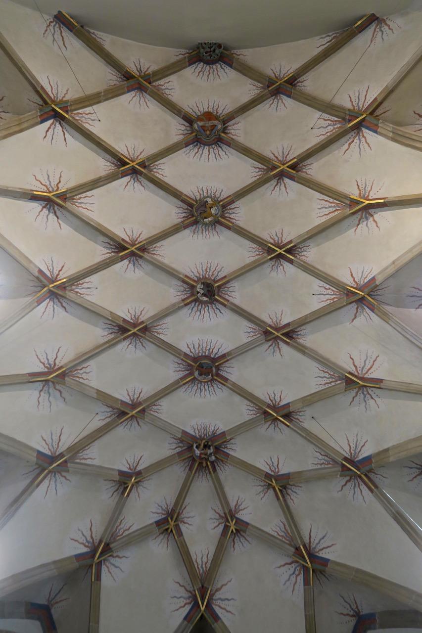 Netzgewölbe im Chor