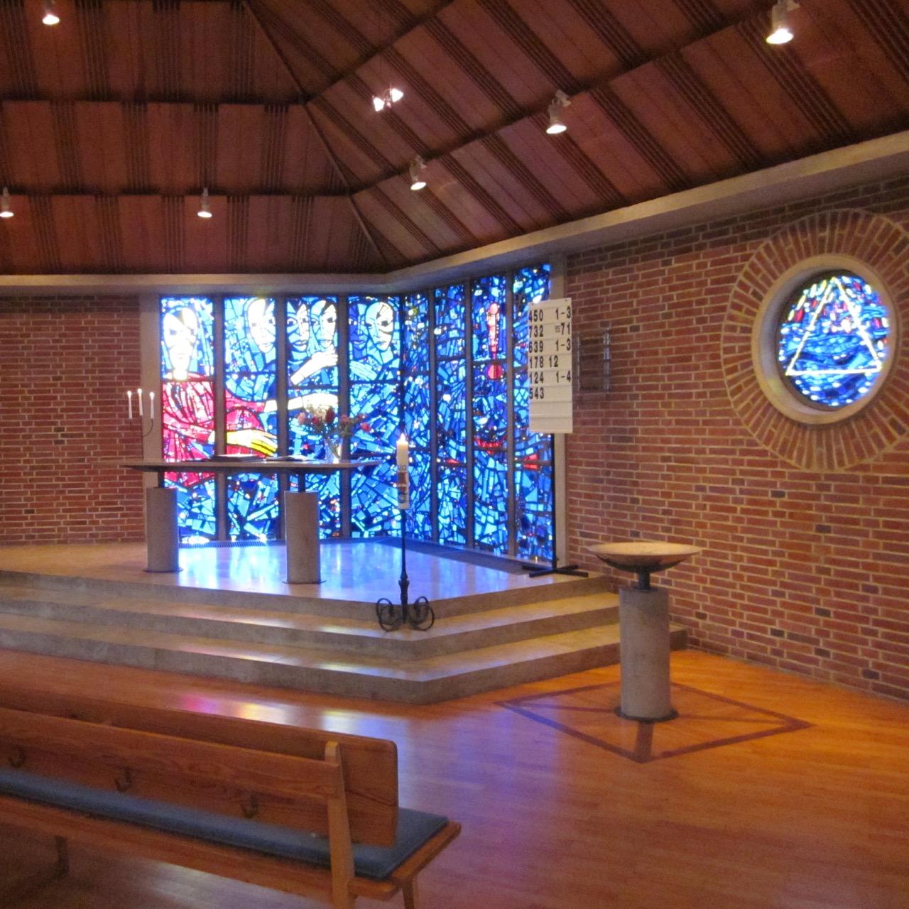 Himmelfahrtskirche, Innenansicht
