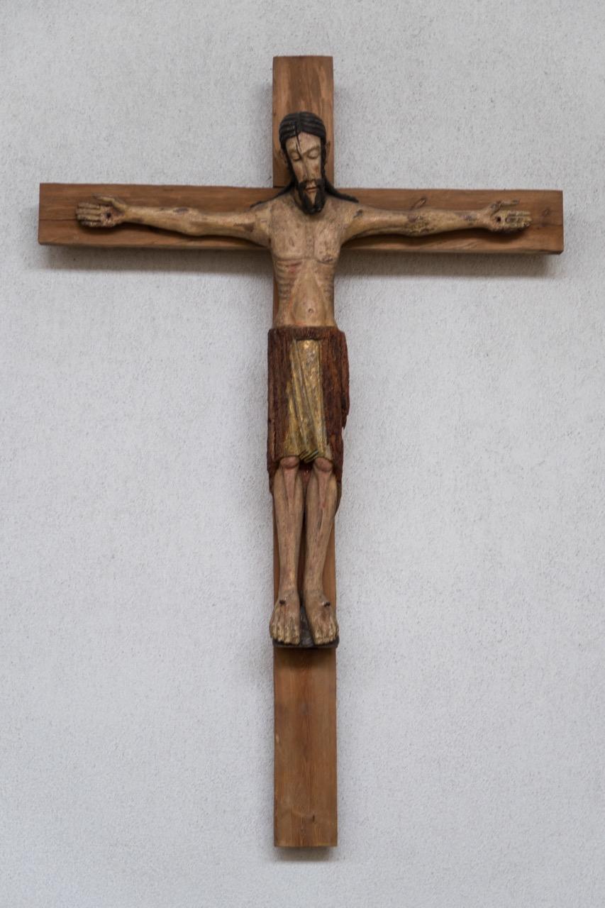 Romanisches Kruzifix, 12. Jh.