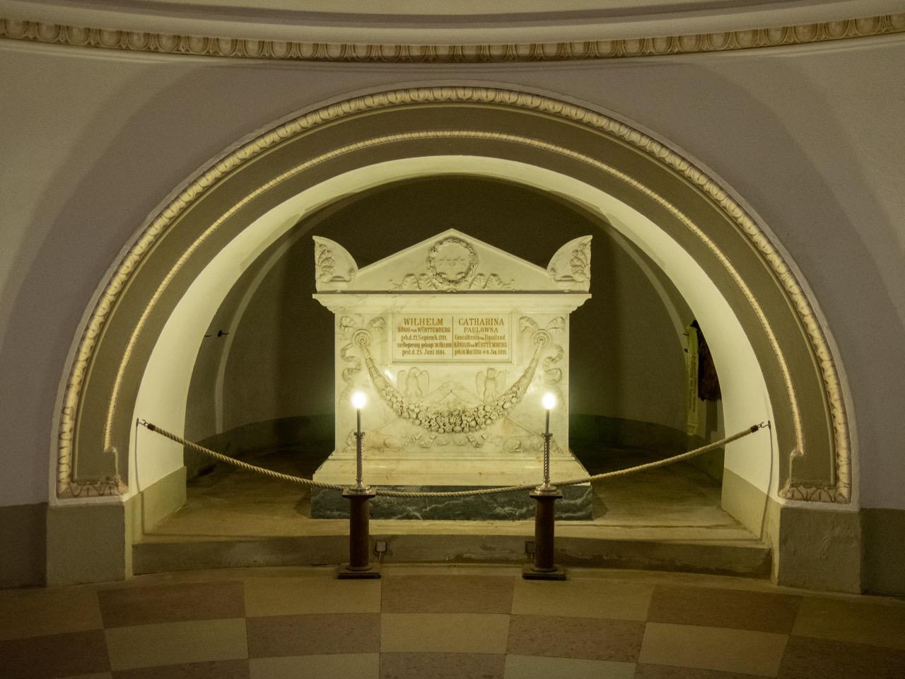 Grab von Katharina und Wilhelm I.