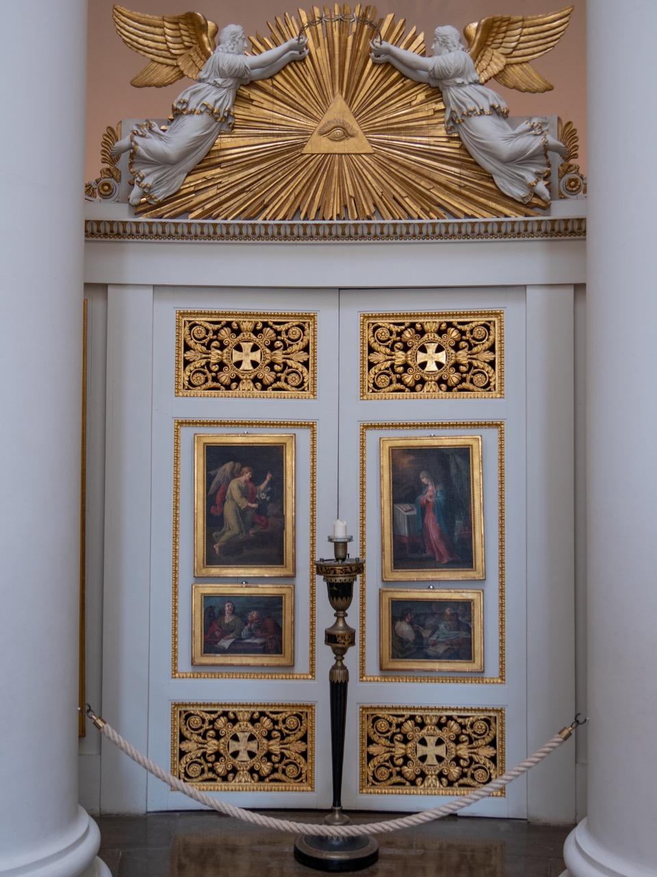 Königspforte (Mitteltür) der Ikonostase