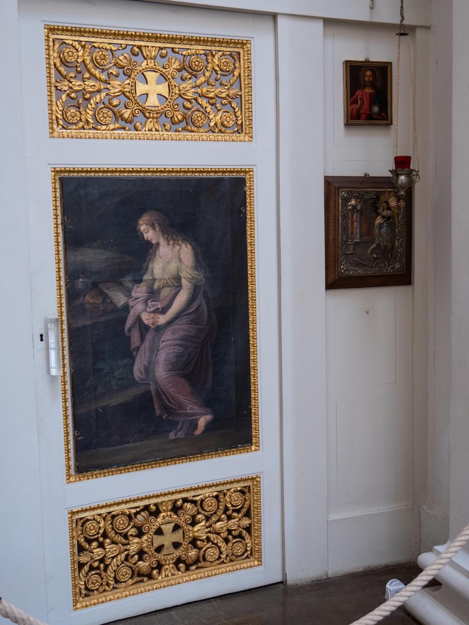 Ikonostase, Tür rechts