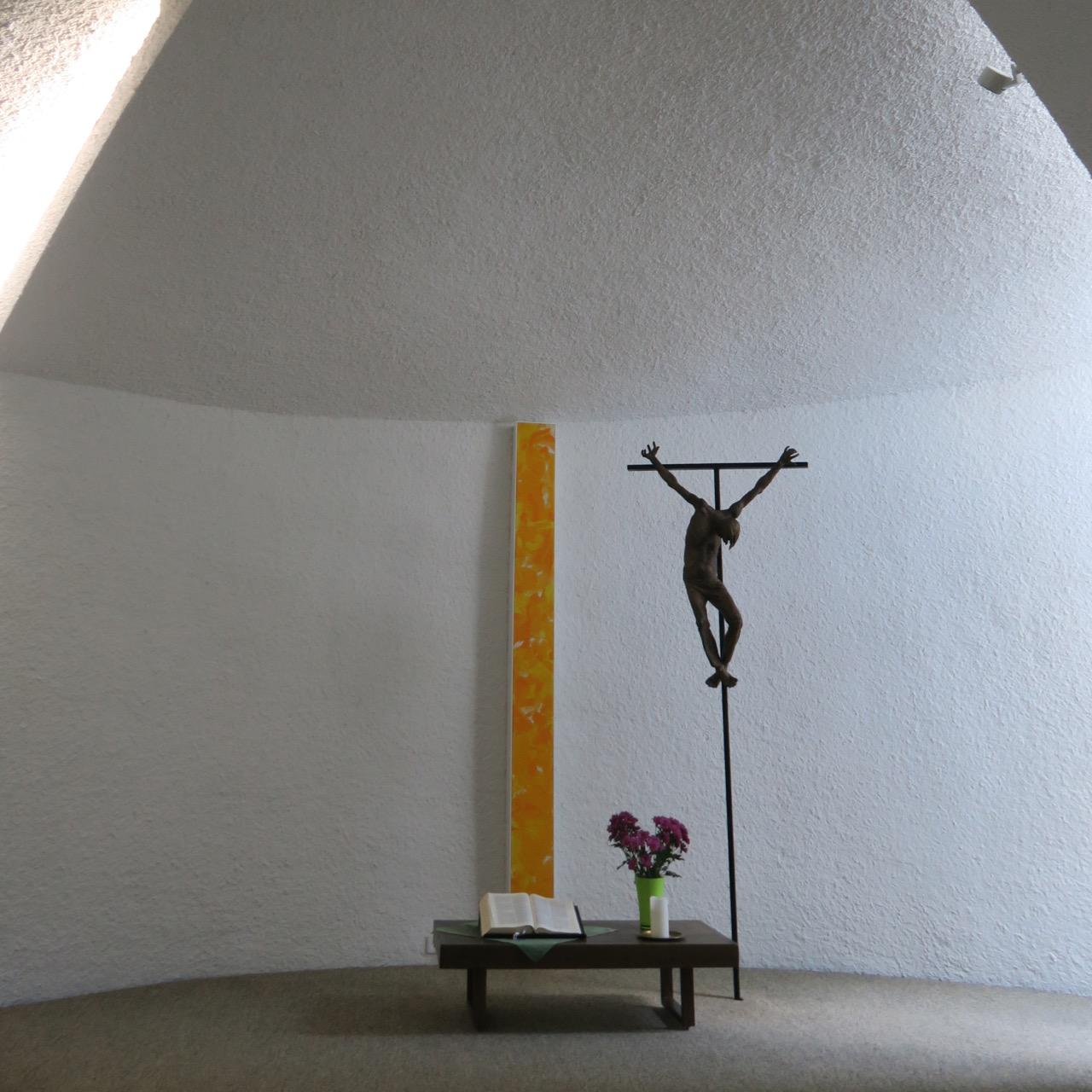 Kapelle im Haus Birkach, Altarraum